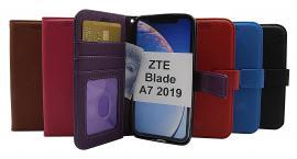 billigamobilskydd.se New Jalusta Lompakkokotelo ZTE Blade A7 2019