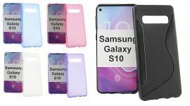 billigamobilskydd.se S-Line TPU-muovikotelo Samsung Galaxy S10 (G973F)
