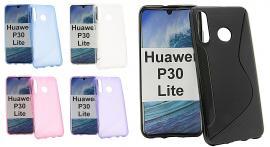 billigamobilskydd.se S-Line TPU-muovikotelo Huawei P30 Lite