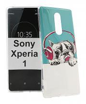 billigamobilskydd.se TPU-Designkotelo Sony Xperia 1 (J9110)
