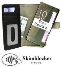 CoverIn Skimblocker Magneettikotelo Sony Xperia X (F5121)