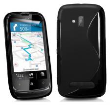billigamobilskydd.se S-Line TPU-muovikotelo Nokia Lumia 610