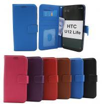 billigamobilskydd.se New Jalusta Lompakkokotelo HTC U12 Life