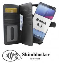 CoverIn Skimblocker XL Magnet Wallet Nokia 8.3