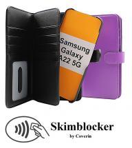 CoverIn Skimblocker XL Magnet Wallet Samsung Galaxy A22 5G (SM-A226B)