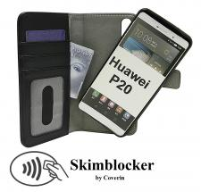 CoverIn Skimblocker Magneettikotelo Huawei P20 (EML-L29)