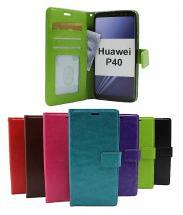 billigamobilskydd.se Crazy Horse Lompakko Huawei P40