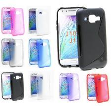 billigamobilskydd.se S-Line TPU-muovikotelo Samsung Galaxy J1 (SM-J100H)