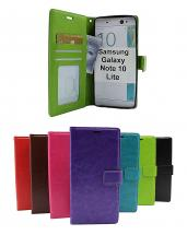 billigamobilskydd.se Crazy Horse Lompakko Samsung Galaxy Note 10 Lite (N770F)