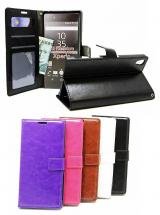 billigamobilskydd.se Crazy Horse Lompakko Sony Xperia Z5 Premium (E6853)