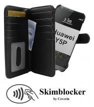 CoverIn Skimblocker XL Magnet Wallet Huawei Y5p