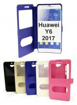 billigamobilskydd.se Flipcase Huawei Y6 2017 (MYA-L41)