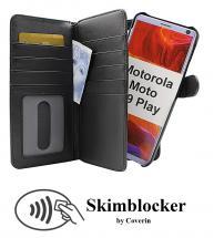 CoverIn Skimblocker XL Magnet Wallet Motorola Moto G9 Play