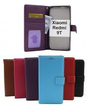 billigamobilskydd.se New Jalusta Lompakkokotelo Xiaomi Redmi 9T