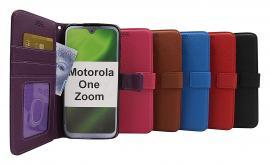 billigamobilskydd.se New Jalusta Lompakkokotelo Motorola One Zoom