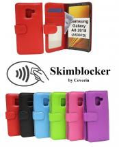 billigamobilskydd.se Skimblocker Lompakkokotelot Samsung Galaxy A8 2018 (A530FD)