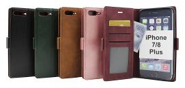 billigamobilskydd.se Lyx Standcase Wallet iPhone 7 Plus / 8 Plus