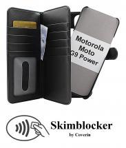 CoverIn Skimblocker XL Magnet Wallet Motorola Moto G9 Power