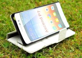 billigamobilskydd.se Jalusta Lompakkokotelo Huawei Ascend P7