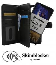 billigamobilskydd.se Skimblocker XL Magnet Wallet Xiaomi Redmi Note 8 Pro