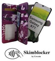 CoverIn Skimblocker XL Magnet Designwallet Samsung Galaxy A71 (A715F/DS)
