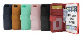 billigamobilskydd.se Zipper Standcase Wallet iPhone 6/7/8/SE 2nd Gen.