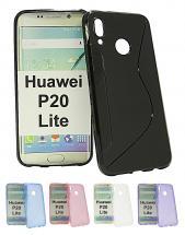 billigamobilskydd.se S-Line TPU-muovikotelo Huawei P20 Lite