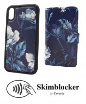 CoverIn Skimblocker Design Magneettilompakko iPhone XR