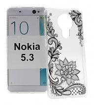 billigamobilskydd.se TPU-Designkotelo Nokia 5.3