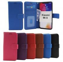 billigamobilskydd.se New Jalusta Lompakkokotelo Xiaomi Mi 8