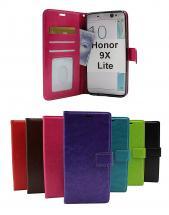 billigamobilskydd.se Crazy Horse Lompakko Huawei Honor 9X Lite