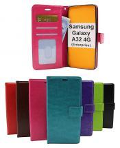 billigamobilskydd.se Crazy Horse Lompakko Samsung Galaxy A32 4G (SM-A325F)