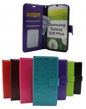 billigamobilskydd.se Crazy Horse Lompakko Samsung Galaxy S20 Plus (G986B)