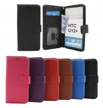 billigamobilskydd.se New Jalusta Lompakkokotelo HTC U12 Plus / HTC U12+