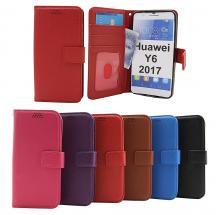 billigamobilskydd.se New Jalusta Lompakkokotelo Huawei Y6 2017 (MYA-L41)