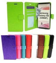 billigamobilskydd.se Crazy Horse Lompakko Samsung Galaxy S9 (G960F)