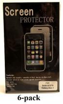 billigamobilskydd.se Kuuden kappaleen näytönsuojakalvopakett Samsung Galaxy Ace 3 (S7275)