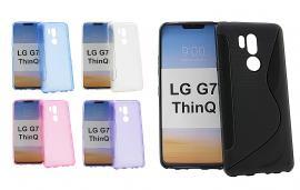 billigamobilskydd.se S-Line TPU-muovikotelo LG G7 ThinQ (G710M)