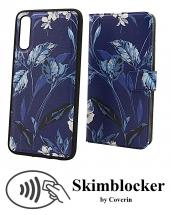 CoverIn Skimblocker Design Magneettilompakko Samsung Galaxy A70 (A705F/DS)