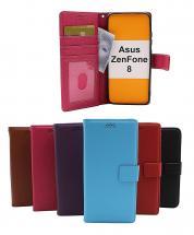 billigamobilskydd.se New Jalusta Lompakkokotelo Asus ZenFone 8 (ZS590KS)