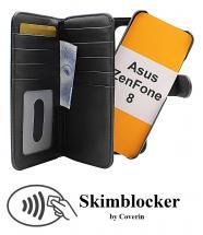CoverIn Skimblocker XL Magnet Wallet Asus ZenFone 8 (ZS590KS)