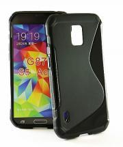 billigamobilskydd.se S-Line TPU-muovikotelo Samsung Galaxy S5 Active (SM-G870)