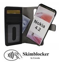 CoverIn Skimblocker Magneettikotelo Nokia 4.2