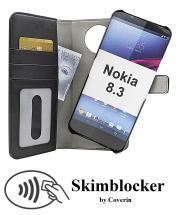 CoverIn Skimblocker Magneettilompakko Nokia 8.3