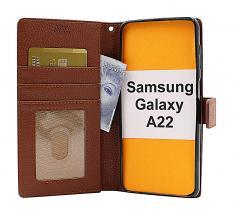 billigamobilskydd.se New Jalusta Lompakkokotelo Samsung Galaxy A22 (SM-A225F/DS)