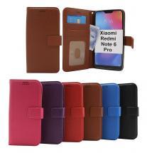billigamobilskydd.se New Jalusta Lompakkokotelo Xiaomi Redmi Note 6 Pro