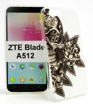 billigamobilskydd.se TPU-Designkotelo ZTE Blade A512