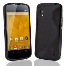 billigamobilskydd.se S-Line TPU-muovikotelo till LG Google Nexus 4 (E960)