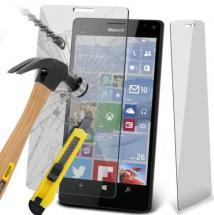 billigamobilskydd.se Näytönsuoja karkaistusta lasista Microsoft Lumia 950 skärmskydd