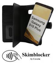 billigamobilskydd.se Skimblocker XL Magnet Wallet Samsung Galaxy S10 Plus (G975F)
